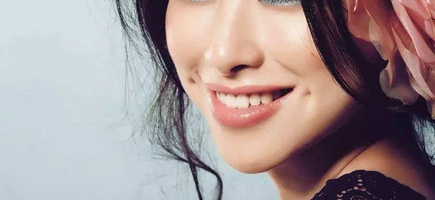 酒窝成型甜美你的笑容